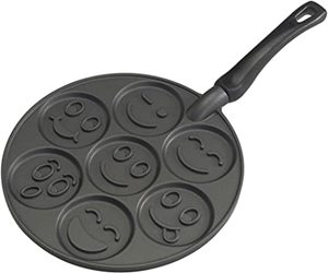 Nordicware Emoticon Smiley Face Pancake Pan 1pc