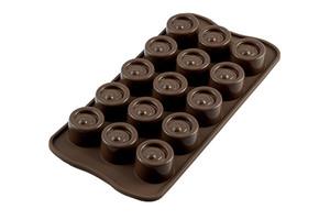 Silikomart Easy Choco Vertigo/Round Mould 1pc