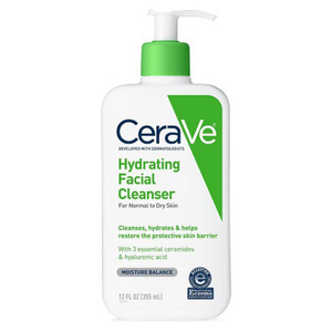 CeraVe Hydrating Facial Cleanser For Normal To Dry Skin 12oz
