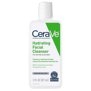 CeraVe Hydrating Facial Cleanser For Normal To Dry Skin 3oz