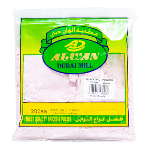 Al Wan Black Salt Powder 200g