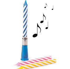 Amazing Party Musical Candles 1pc