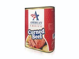 America's Choice Corned Beef 340g