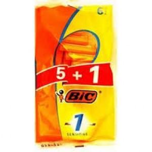 Bic 1 Sensitive Razor Men 6s