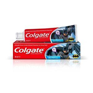 Colgate Batman Mild Fruit Toothpaste 50ml clea