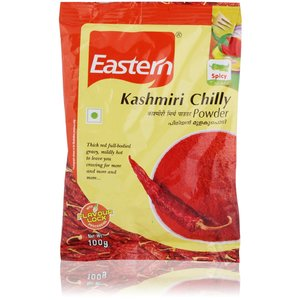Eastern Kashmiri Chilli Whole 100g