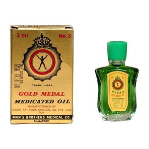 Gold Medal Medicated Oil 3ml