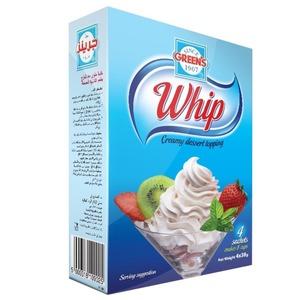 Greens Whip Creamy Dessert Topping 125g