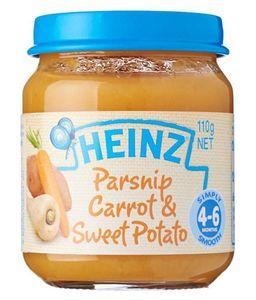 Heinz Pure Veg Parsnip Carrot Sweet Potato 110g