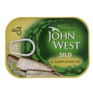 John West Sild In Sunflower Oil 110g