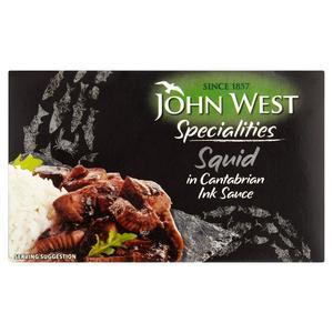 John West Squid In Ink 111g