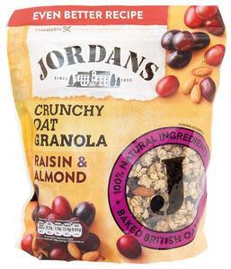Jordans Crunchy Oat Granola Raisin & Almonds 850g