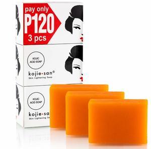 Kojie San Skin With Soap 3x100g
