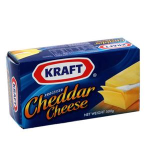 Kraft Cheddar Cheese Block 500g