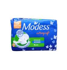 Modess Cottony Regular Wings 8pcs