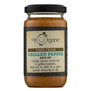 Mr Organic Free From Grilled Pepper 190g