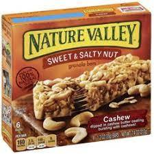 Nature Valley Raw & Simple Cashew Cookie Bar 7.4oz