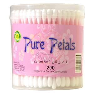 Pure Petals Cotton Buds 200pcs