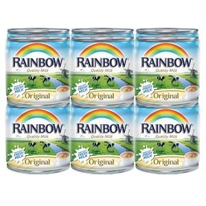 Rainbow Evaporated Milk Original Purified 12x170g