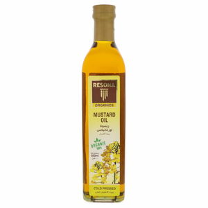 Resona Organic Mustard Oil 500ml