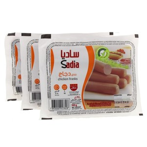 Sadia Chicken Franks 3x340g