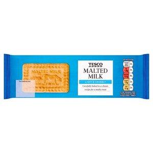 Tesco Malted Milk Biscuits 200g