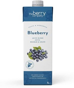 The Berry Company Bluberry Nas Juice 1000ml