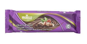 Vochelle Block Fruit And Nuts 40g