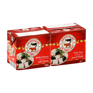 The Three Cows Cheese Brick Red 2x500g