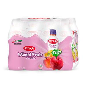 Star Mixed Fruit Drink With Sleeve 12x245ml