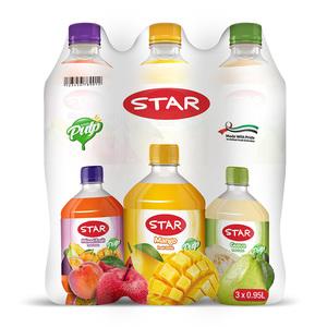 Star Assorted Drink 3x0.95L
