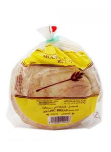Modern Bakery Bread Flat Arabic White Small 5s