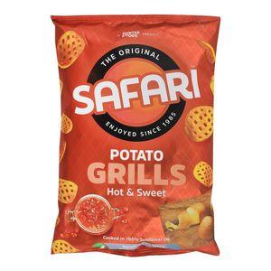 Safari Grills Hot And Sweet Chips 15g