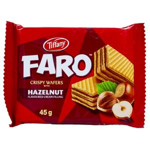 Tiffany Wafer Faro Hazelnut 45g