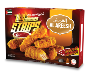 Al Areesh Chicken Strips Zing 700g