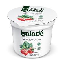 Balade Yogurt Strawberry Low Fat 100g