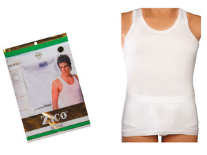 Zico Mens Vest/Silver 1pc