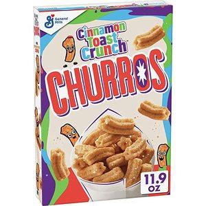 General Mills Cinnamon Toast Crunch Churros Mid 337g