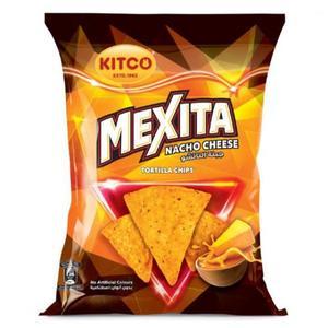 Kitco Mexita Tortilla Nacho Cheese 40g