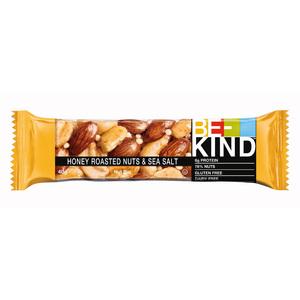 Be-Kind Honey Roasted Nuts & Seasalt Gluten Free 40g