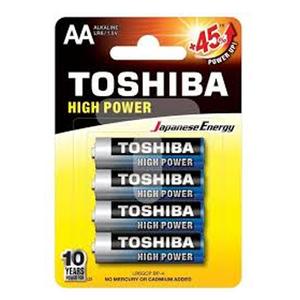 Toshiba Alkaline Toshiba Lr 06 Aa 4+2 1pc