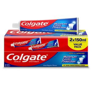 Colgate Toothpaste Regular 2x150ml
