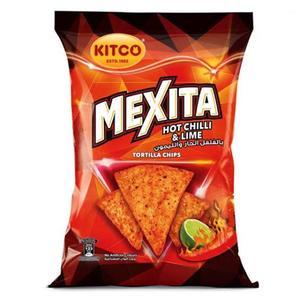 Kitco Mexita Tortlla Hot Chili And Lime 180g