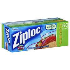 Ziploc Sandwich Bags 3x50s