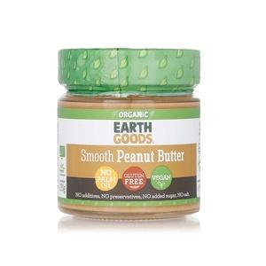 Earth Goods Org Peanut Butter Creamy 220g