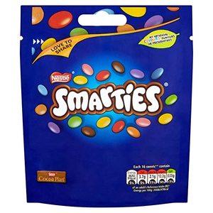 Nestle New Smarties Milk Pouch 90g