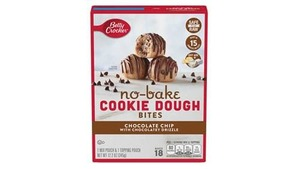 Betty Crocker No-Bake Bites Cookie Dough, Chocolate Chip With Chocolatey Drizzle 345g