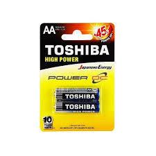 Toshiba Alkaline Battery Aa 2 1pc