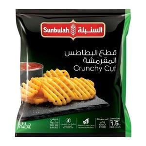 Sunbulah Potato Fries Crunchy Cuts 1.5kg