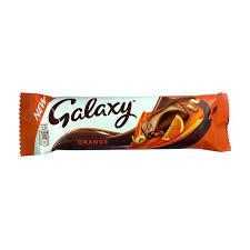 Galaxy Milk Choco & Orange 36g